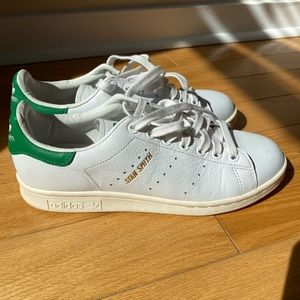 Adidas Stan Smith sneakers white and green